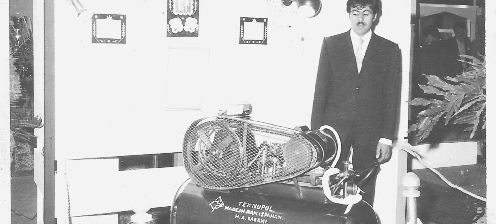 OUR HISTORY IS THE HISTORY OF COMPRESSOR TECHNOLOGY IN IRAN